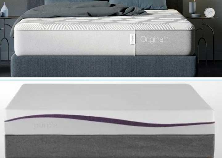Casper Hybrid vs Purple
