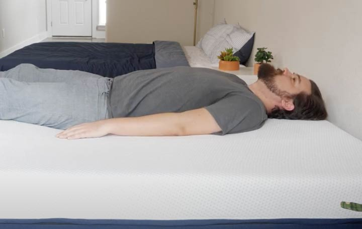 Amerisleep AS2 - Back Sleeping