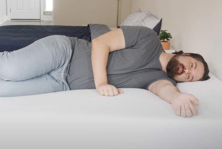 Amerisleep AS4 - Side Sleeping