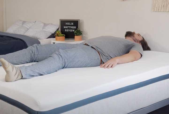 Helix Twilight Back Sleeping