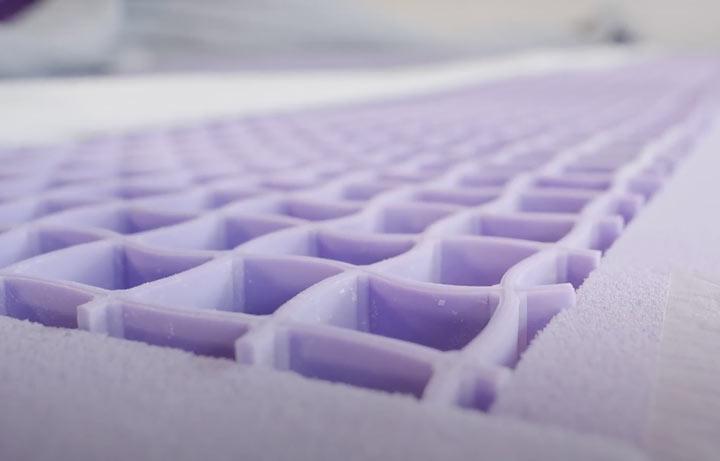 Purple Hybrid Premier - Construction