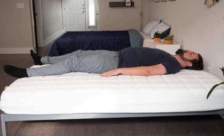 Simmons Foam - Back Sleeping