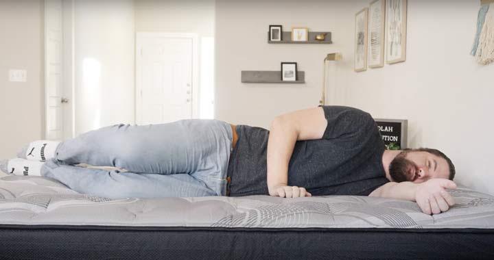 Nolah Evolution Hybrid Side Sleeping