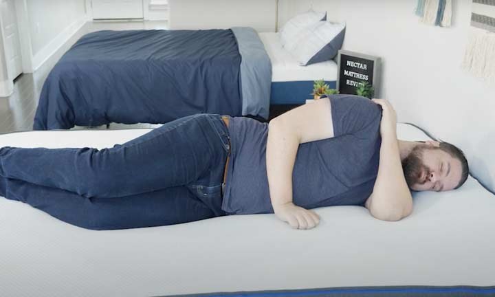 Nectar Mattress - Side Sleeping