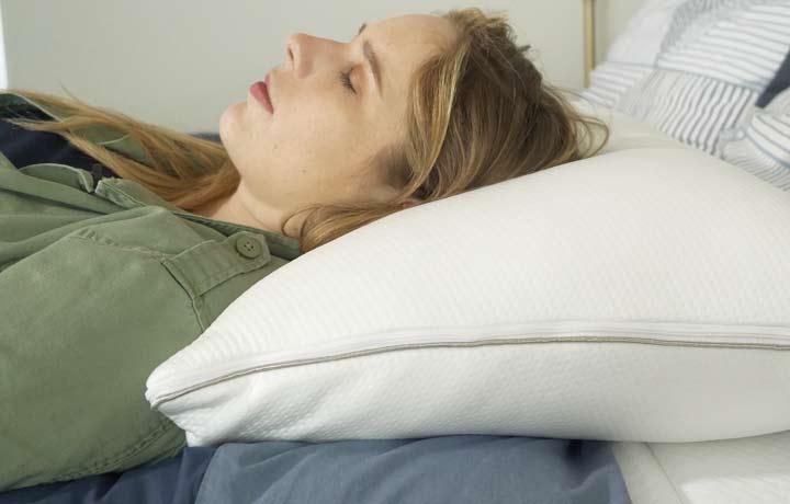 Sleep Number True Temp - back sleeping