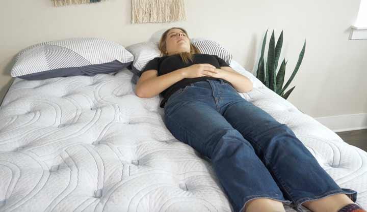 Perfect Sleeper back sleeping