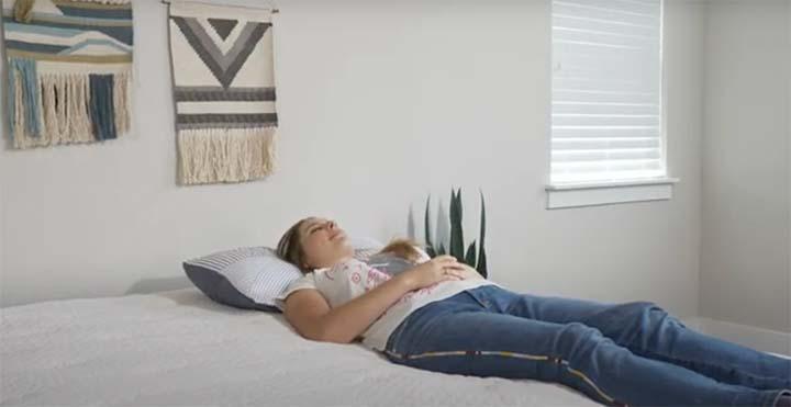 EcoSleep-Luxe-Hybrid-Back-Sleeping